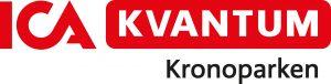 ICA_kvantum_Kronoparken_Umea_Logotyp_Rod_Liggande_CMYK